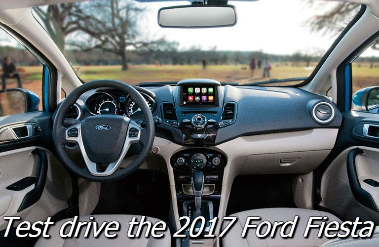 where can i test drive the 2017 ford fiesta in the fox valley?