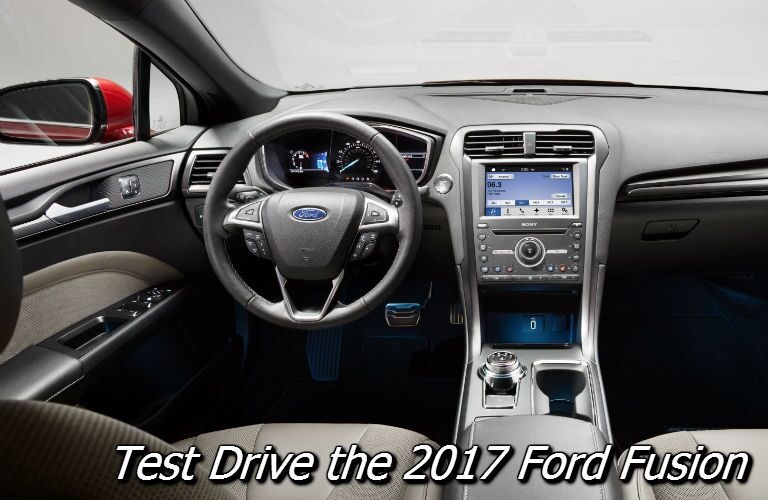 where can i test drive the new 2017 ford fusion near appleton?