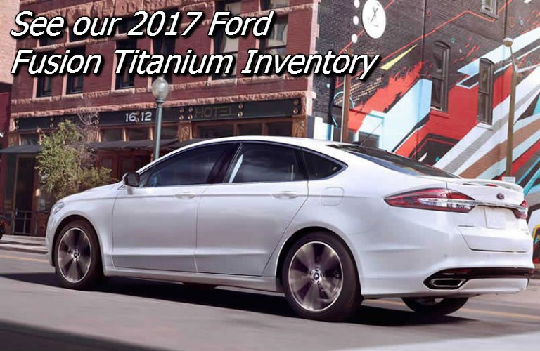 where can i find the new 2017 ford fusion titanium near appleton?