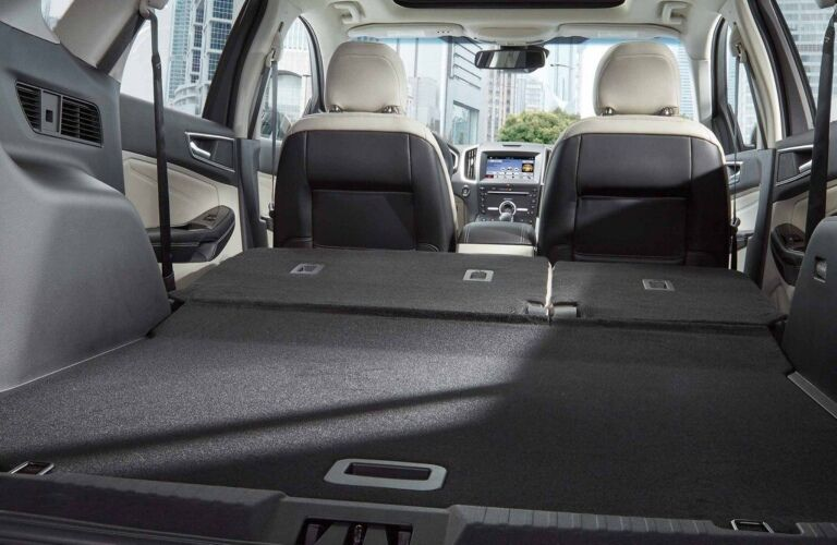 2018 Ford Edge Cargo room seats folded down