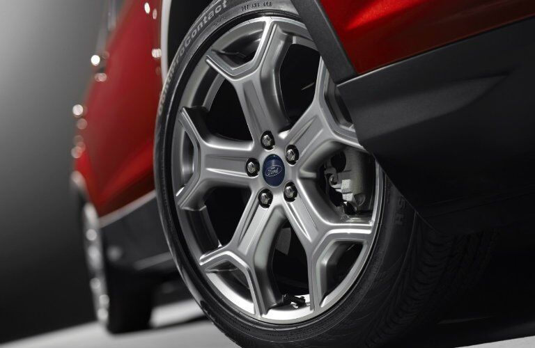 2017 ford escape wheel design