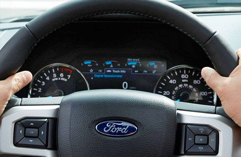 2018 Ford F-150 gauge cluster