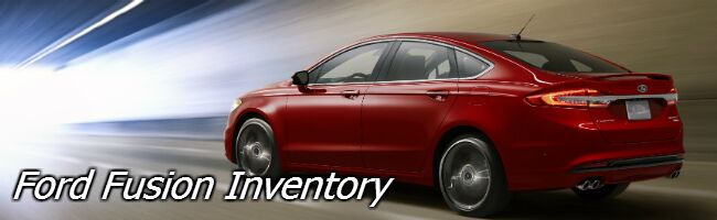 new ford fusion inventory near appleton