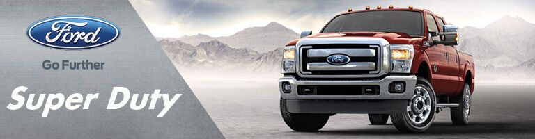 new ford super duty at holiday ford