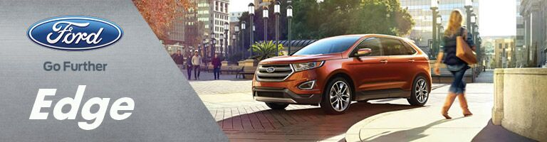 Ford edge at holiday ford