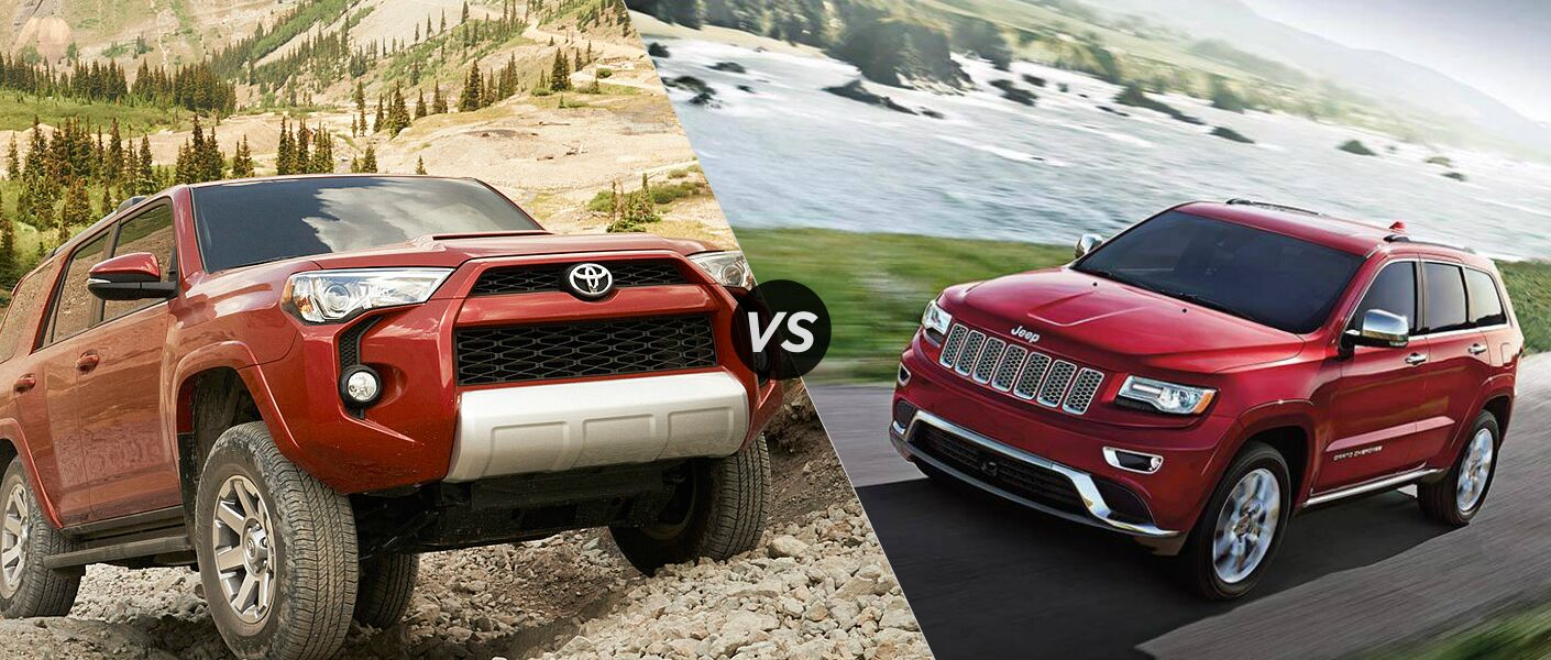Jeep Grand Cherokee Vs Toyota 4runner >> 2015 Toyota 4runner Vs 2015 Jeep Grand Cherokee