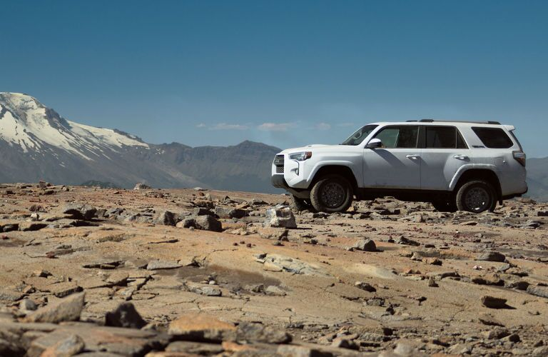 Profile View of the 2017 Toyota 4Runner TRD Pro in White