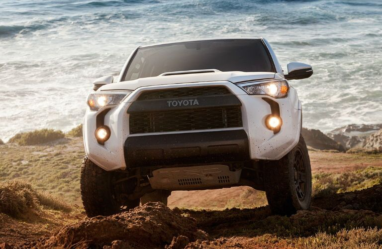 2017 Toyota 4Runner Exterior View in White