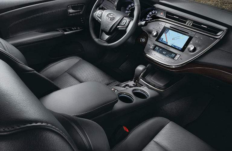 2018 Toyota Avalon Interior View in Black