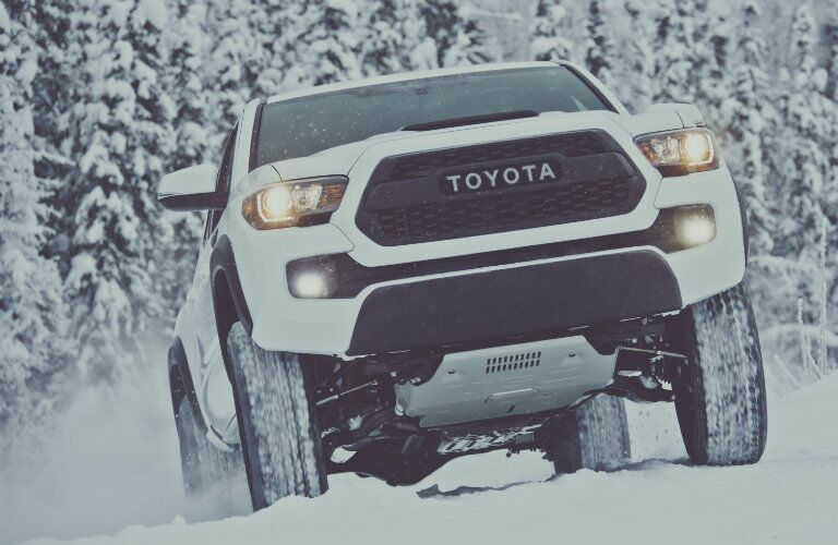 2017 Toyota Tacoma TRD Pro front skid plate
