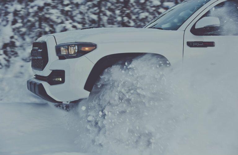 2017 Toyota Tacoma TRD Pro headlights