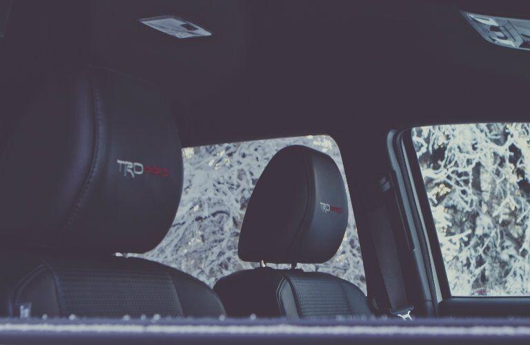 2017 Toyota Tacoma TRD Pro seating