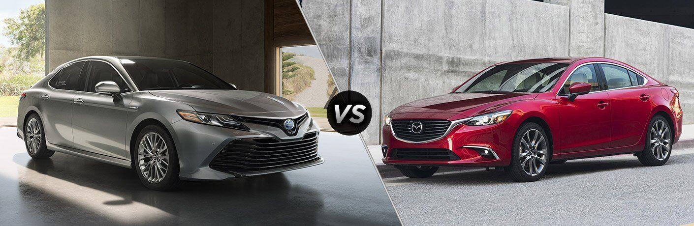 2018 Toyota Camry vs 2017 Mazda6