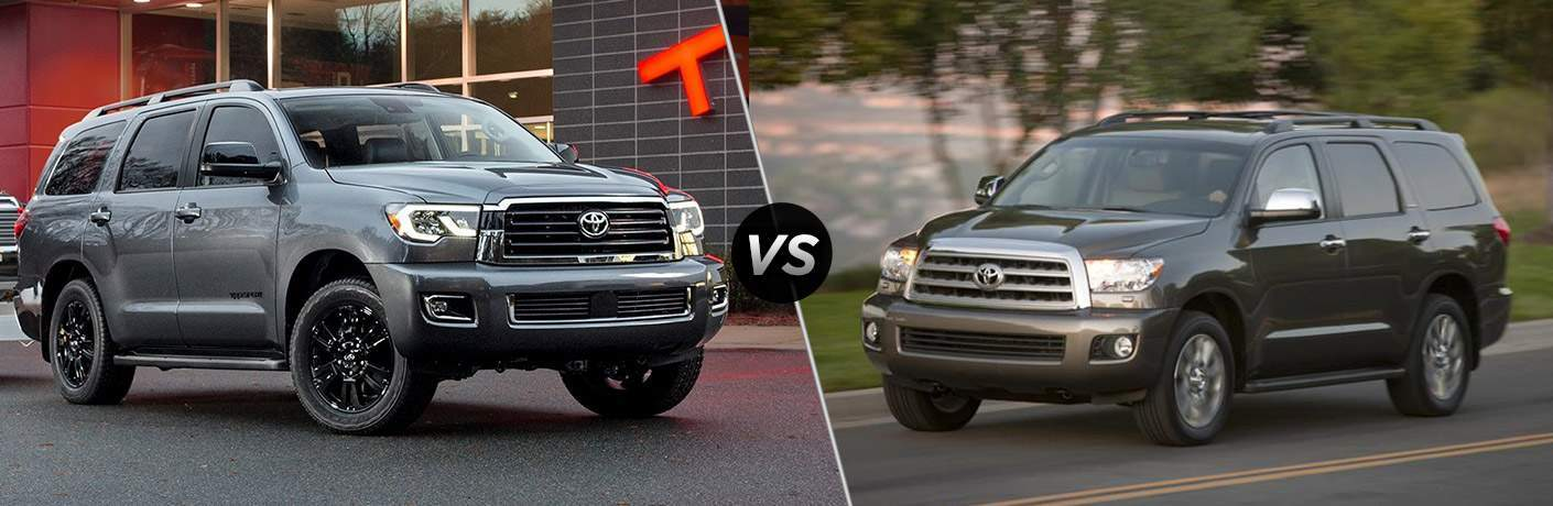 2018 Toyota Sequoia vs 2017 Toyota Sequoia