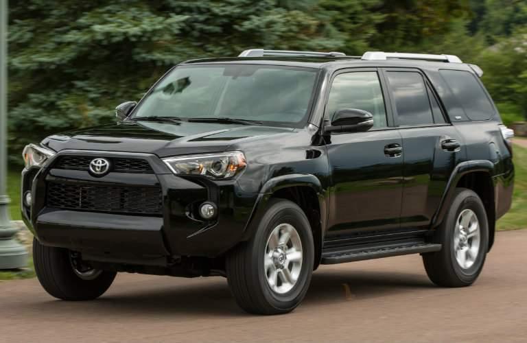 2018 Toyota 4Runner exterior in black