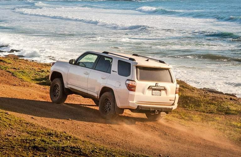 2018 Toyota 4Runner driving near the ocean
