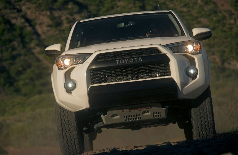 2019 Toyota 4Runner TRD Pro Exterior Front End View in White