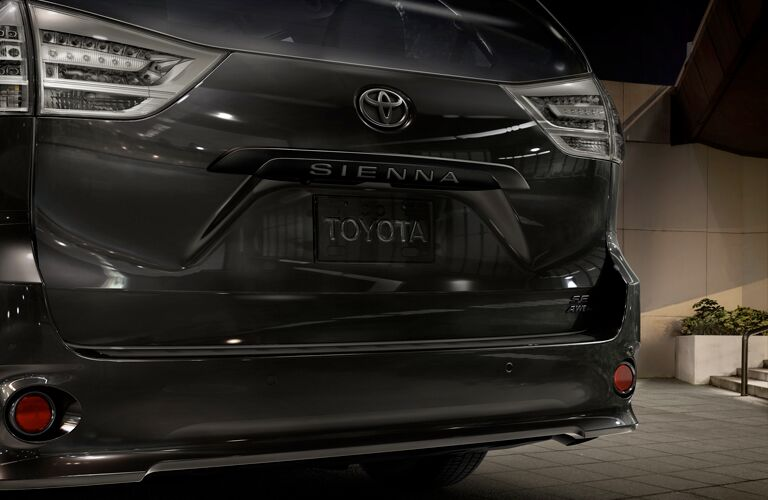 2020 Toyota Sienna Nightshade Edition rear exterior
