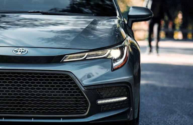 2020 Toyota Corolla headlight closeup