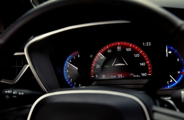 2020 Toyota Corolla instrument cluster