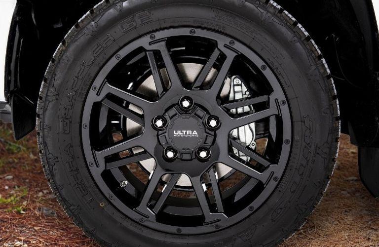 Toyota Tundra XP Black Gunner Alloy Wheels
