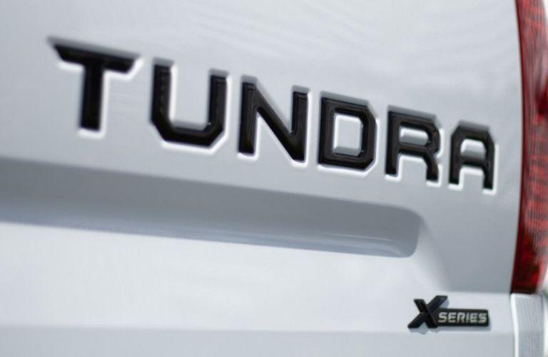 Toyota Tundra XP badging