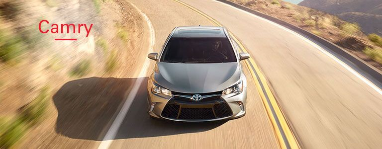 2016 Toyota Camry from front_o