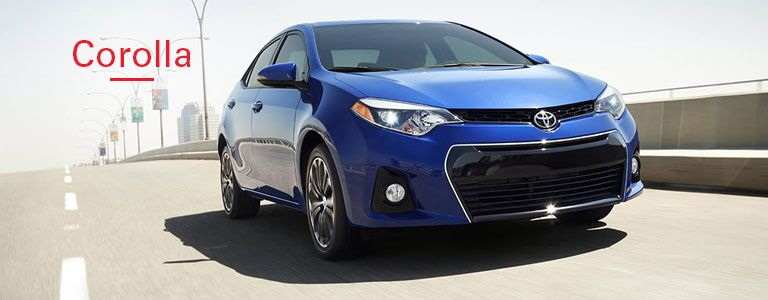 2016 Toyota Corolla from front_o