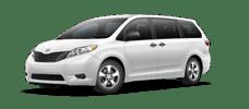 Rent a Toyota Sienna in Serra Toyota