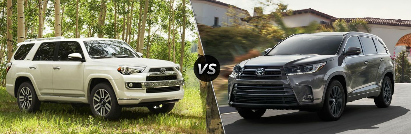 Toyota Highlander Vs Toyota 4Runner >> 2019 Toyota 4runner Vs 2019 Toyota Highlander