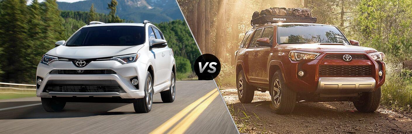 2018 Toyota RAV4 vs 2018 Toyota 4Runner