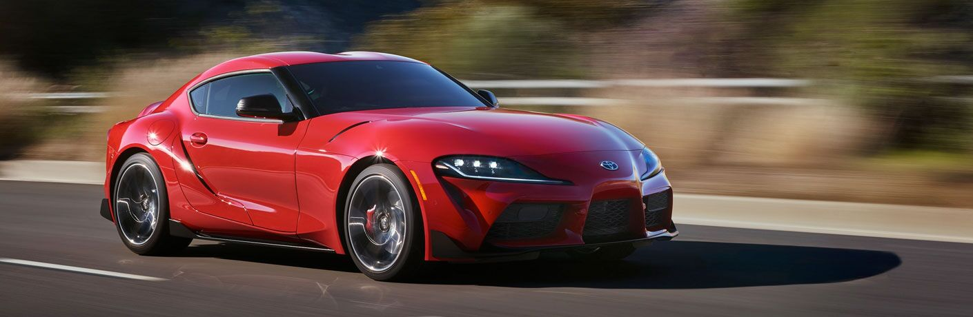 2020 Toyota GR Supra in red