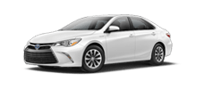 Rent a Toyota Camry Hybrid in Alamo Toyota