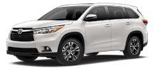 Rent a Toyota Highlander in Alamo Toyota