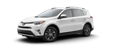 Rent a Toyota Rav4 Hybrid in Alamo Toyota