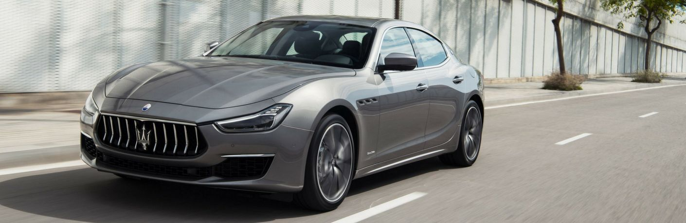 2020 Maserati Ghibli on city street