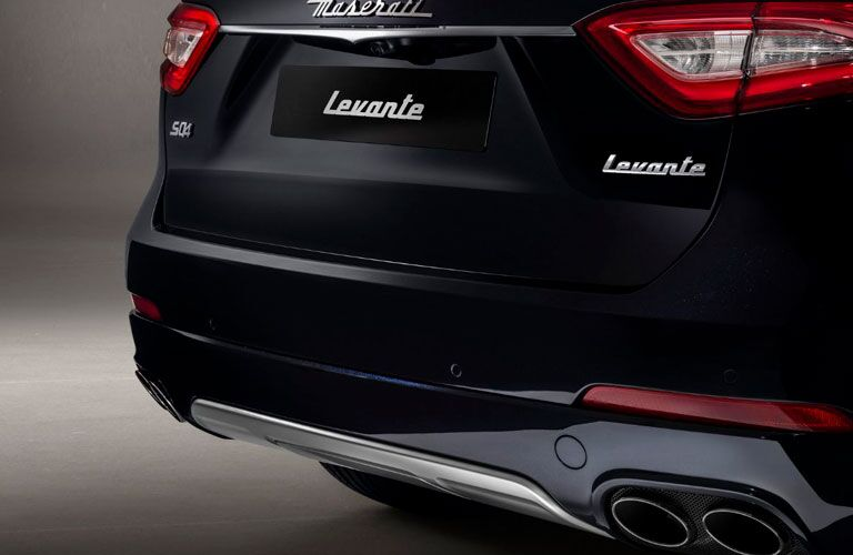 2020 Maserati Levante rear badging