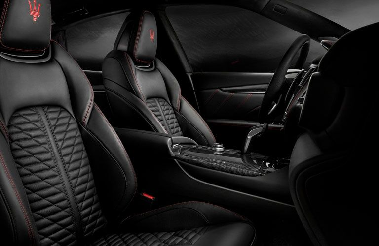 2020 Maserati Levante leather trimmed seats