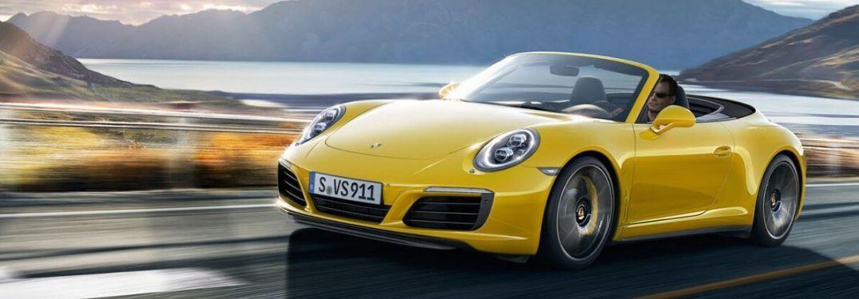 2020 Porsche convertible