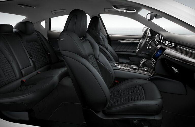 2021 Maserati Quattroporte Trofeo seats