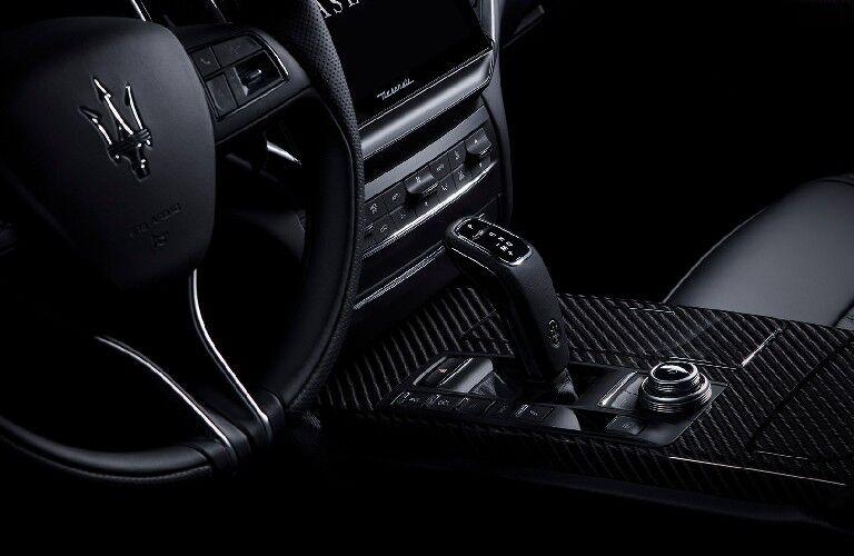 2021 Maserati Ghibli dashboard