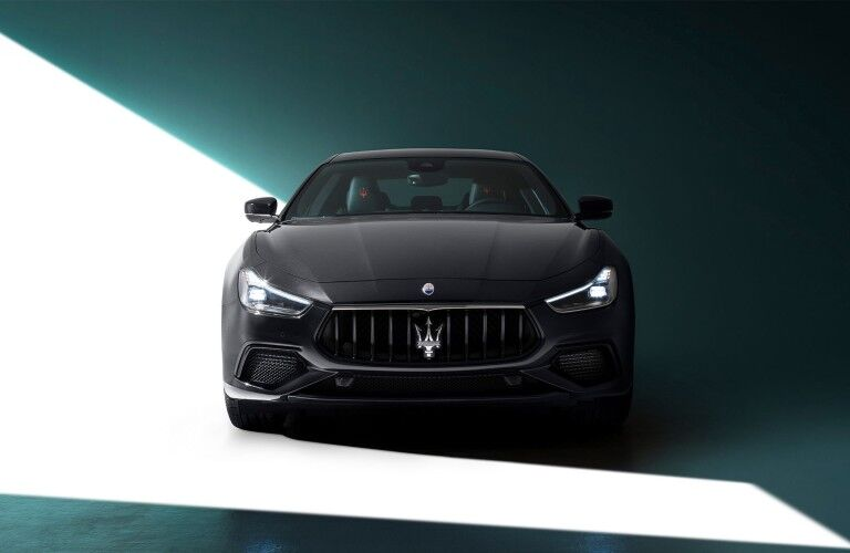 2021 Maserati Ghibli front fascia