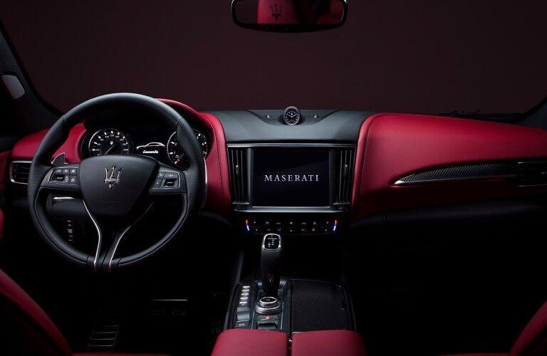 2021 Maserati Levante dashboard