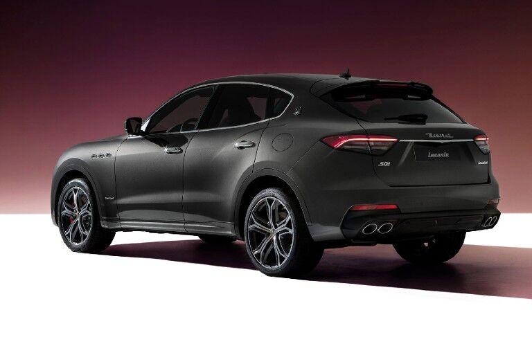 2021 Maserati Levante from rear