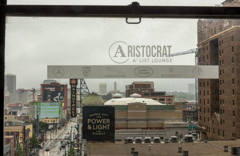 Aristocrat A' List Lounge at the Midland, window view