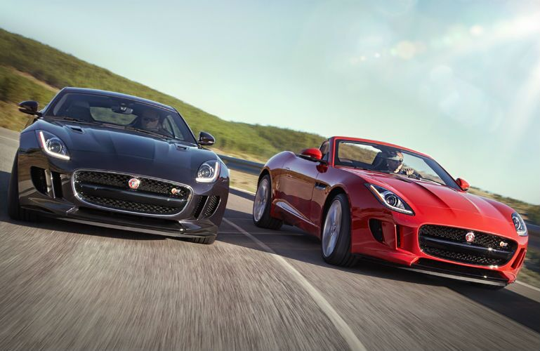 Aristocrat Motors Jaguar Sports Car F-Type Convertible Coupe