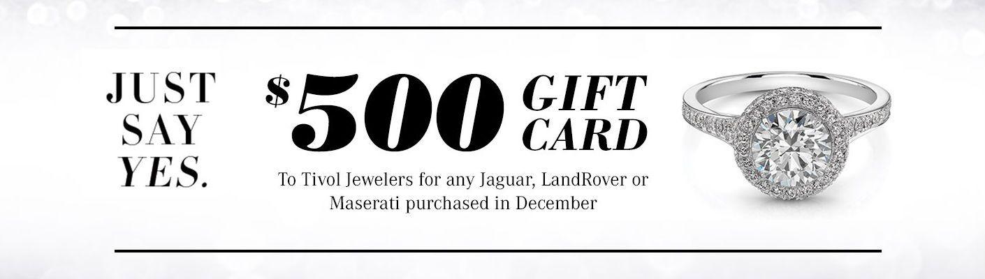 Aristocrat Motor's December Incentive Tivol