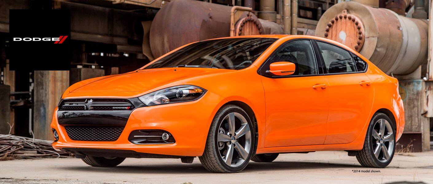 2015 Dodge Dart orange header image