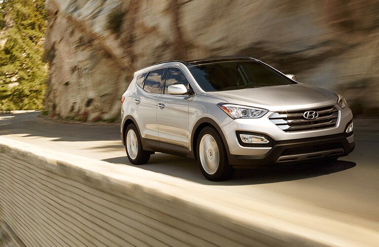 Silver 2015 Hyundai Santa Fe Sport