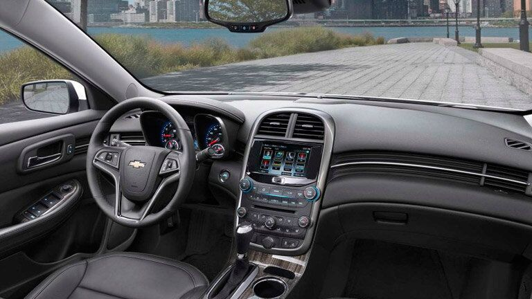 Used Chevrolet Malibu interior